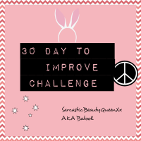 30 Day Life Improvement Challenge