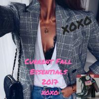 Current Fall Essentials 2017